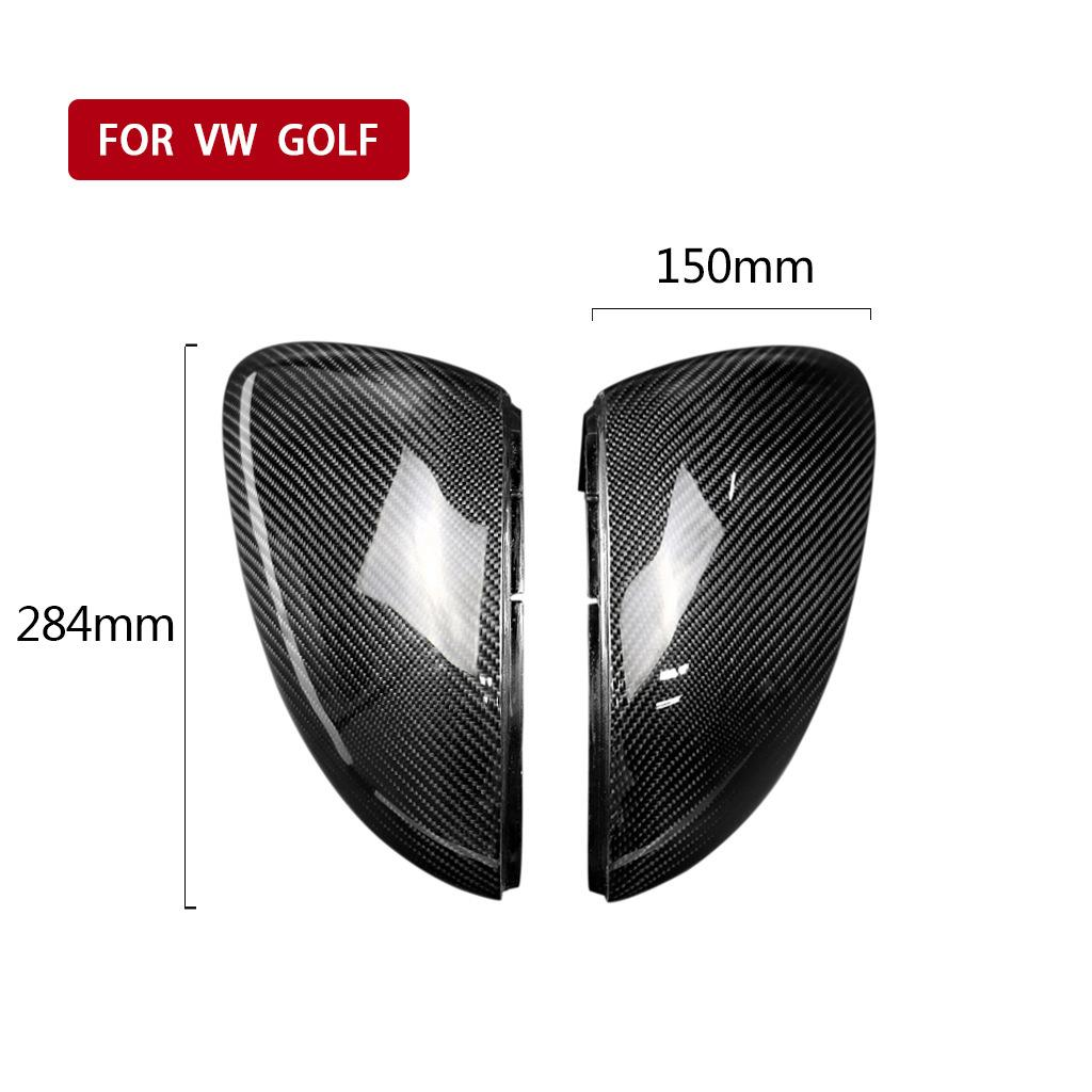 Refitting Special Carbon Fiber Rearview Mirror Cover Replacement Cover for Volkswagen Golf 7 GTI 6 MK6 7 R20 Volkswagen Passat CC