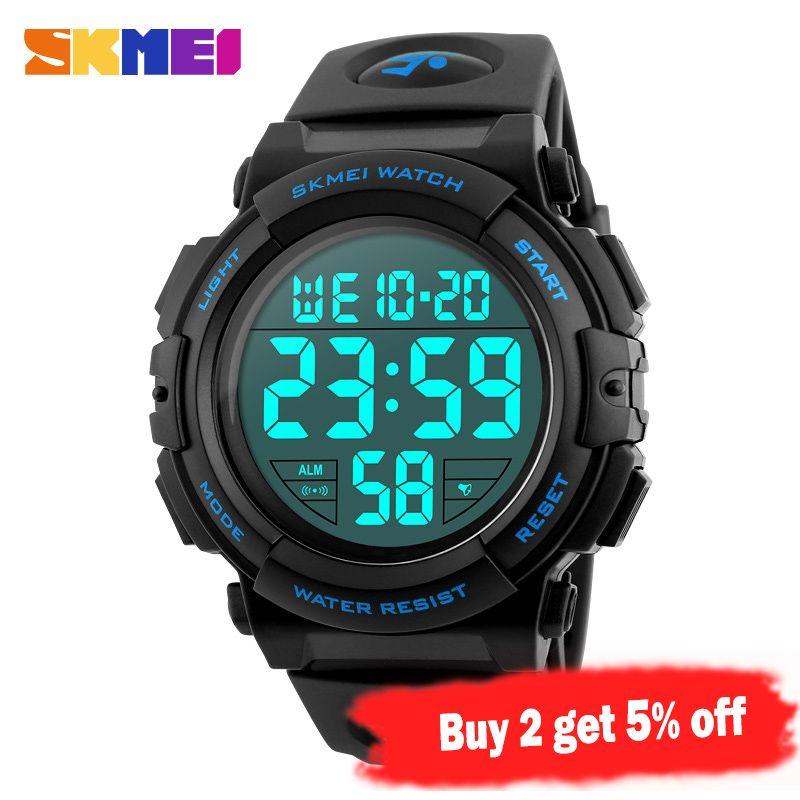Watch 1258 Outdoor Watch Relogio Men Multifunction Fashion Digital Waterproof 5Bar Military Sport SKMEI Masculino Watches Erchg