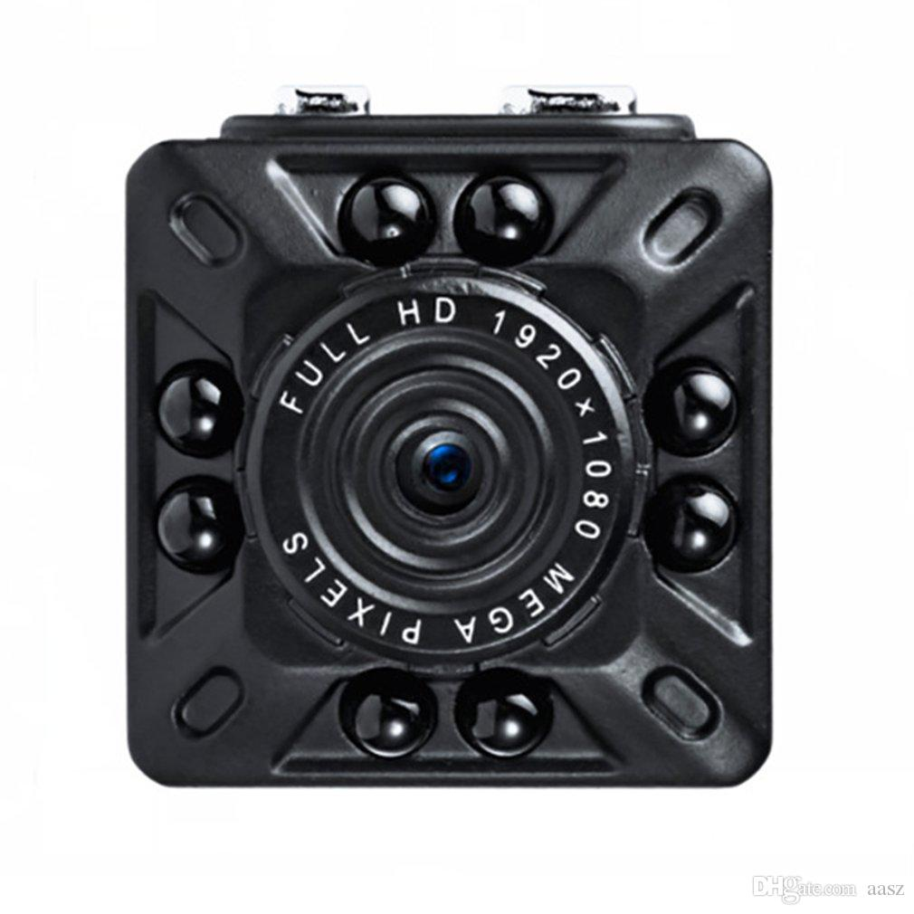 SQ10 مصغرة كاميرا كاملة hd 1080 وعاء مايكرو ir للرؤية الليلية dv الحركة الاستشعار DVR كاميرا فيديو مسجل الصوت