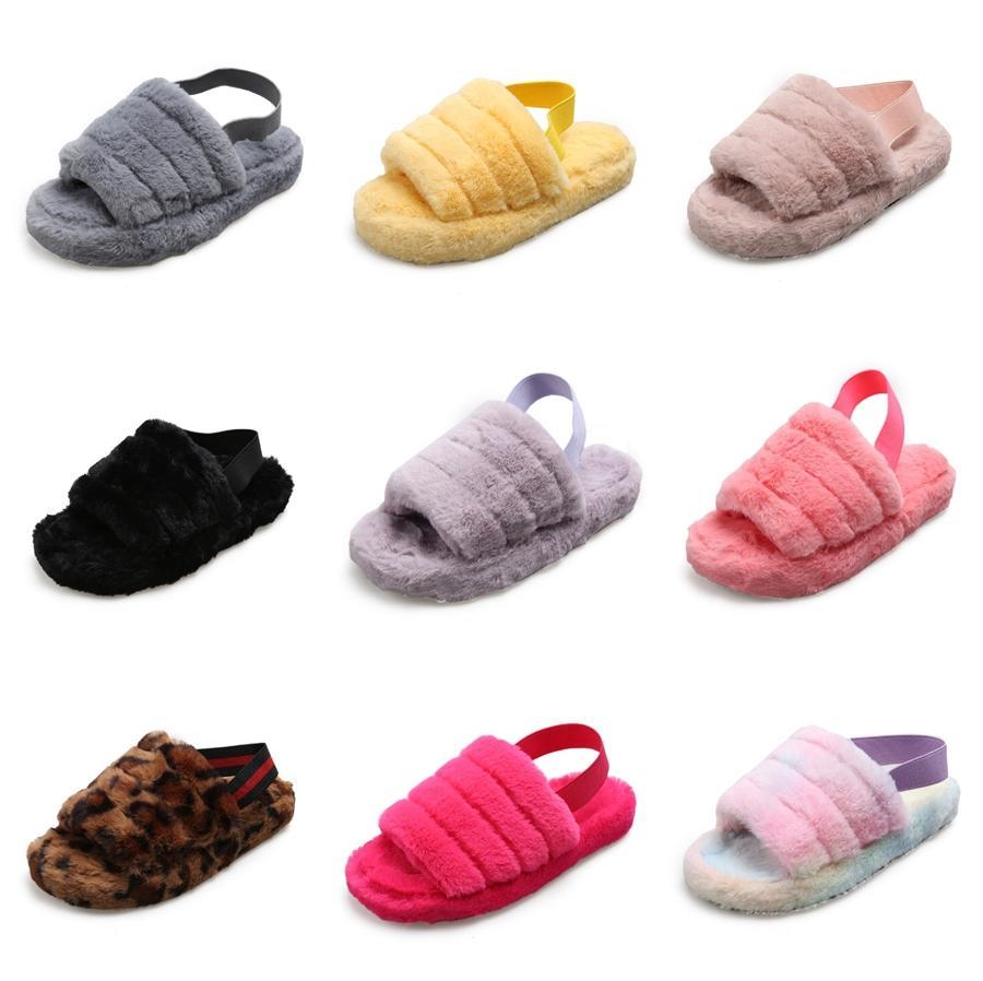 Le nuove signore casuale delle donne flip Posh leopardo dell'annata Flop Comfy pantofole Zipper Women Shoes Shoes 2020 C25 # 167