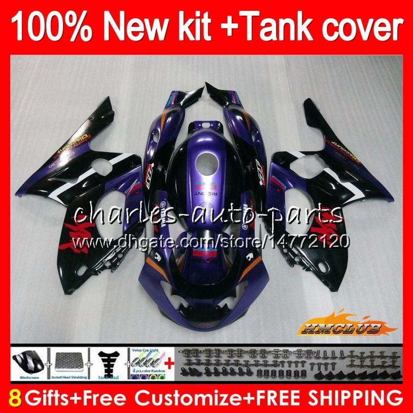 Body For YAMAHA YZF-600R CC YZF600R new purple Thundercat 72NO.66 YZF 600R 96 97 98 99 00 01 02 1996 1997 1998 1999 2000 2001 2002 Fairing