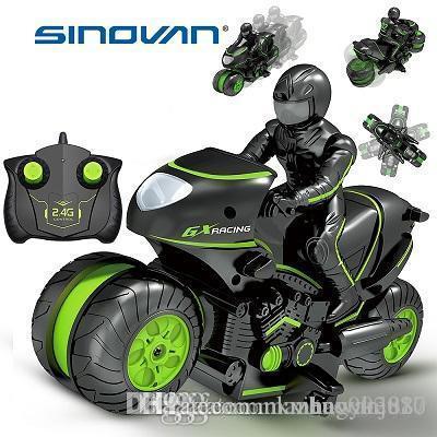 Creat Mini Moto Crianças motocicleta elétrica Controle Remoto RC Car mini-motocicleta brinquedos 2.4Ghz Corrida de Moto Boy para crianças