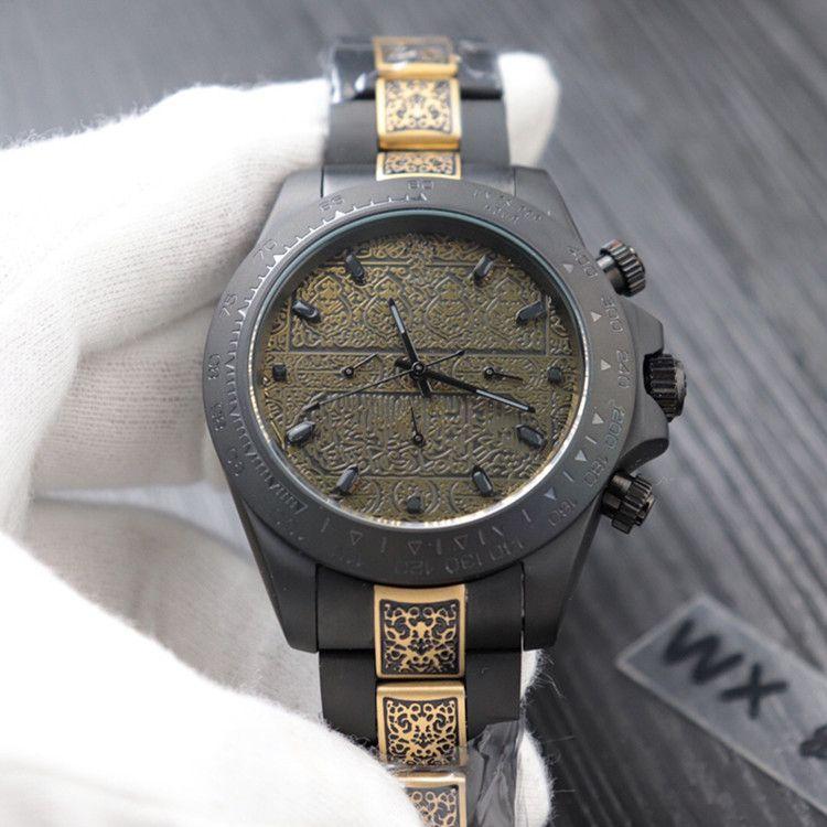 2020a watch pro diver bezelSteel 베젤 Mens 로즈 골드 손목 시계 남성 스포츠 디자이너 시계 남성 스포츠 다이빙 시계 손목 시계