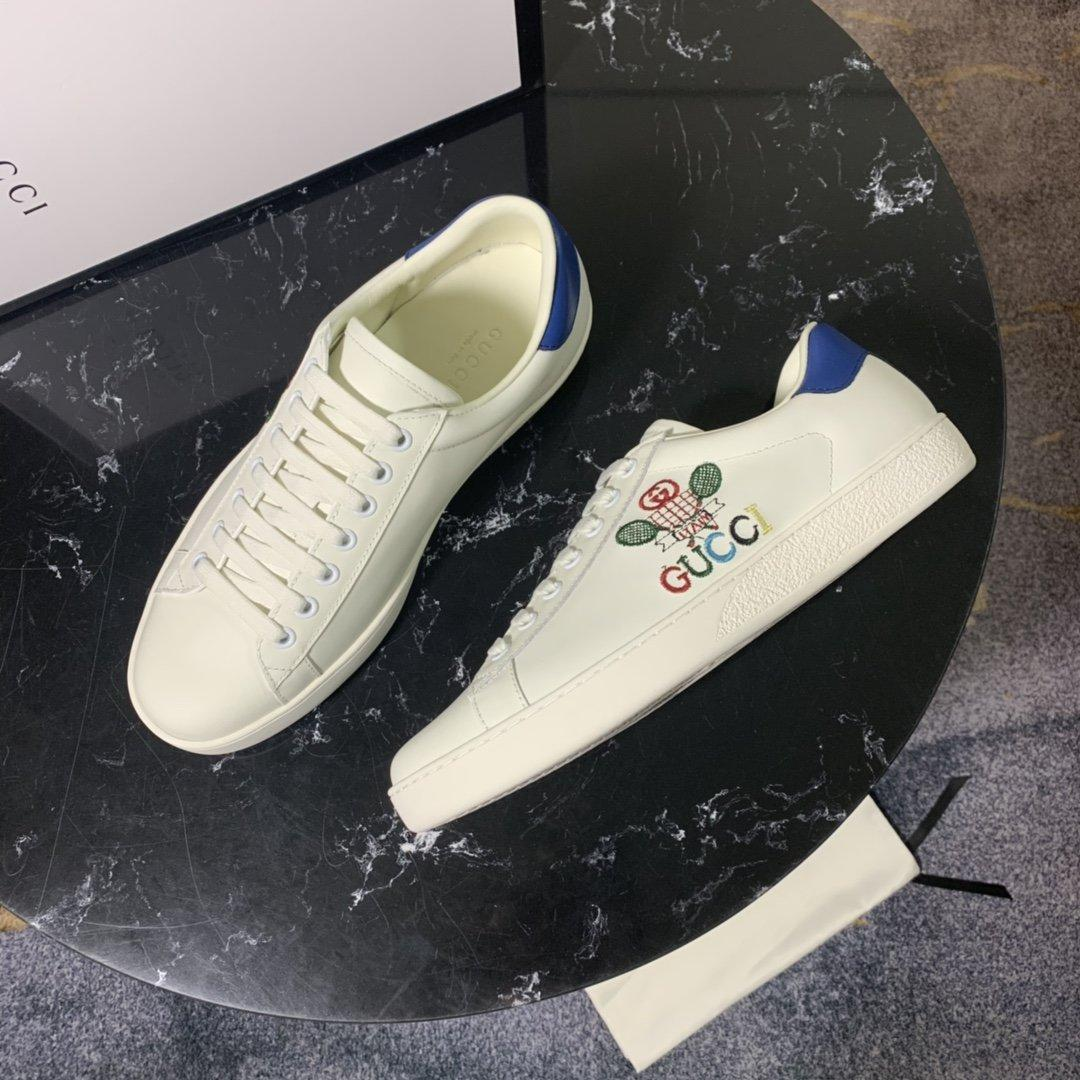 Мужчины и женщины обуви из натуральной кожи Мода Повседневной обувь Людей Классических женщин восстановления стиля обувь Lace-Up с коробкой 35-46