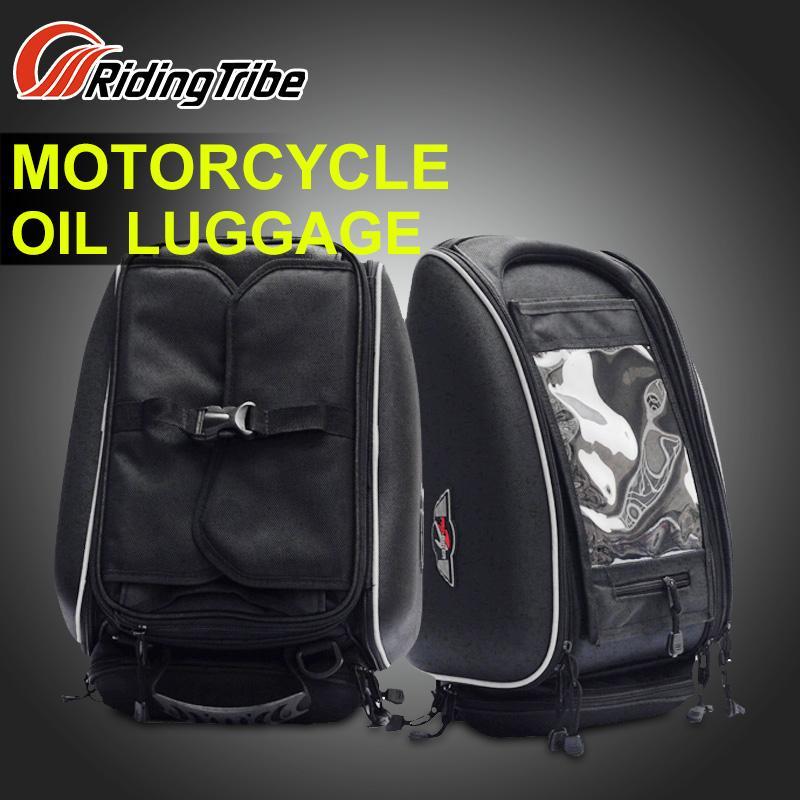 PRO-BIKER 45x32x31cm Motorycle Oil Tank Bag Offroad Racing Luggage Bag Dirt Bike Riding Scooter Motocicleta Motocross Saddle