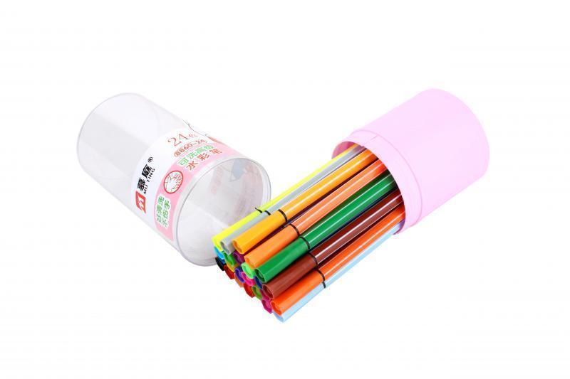 Marker Set 24 Colors Student Mark Pen Water Color Pens Art Painting Pencils Art Markers For School Supplies