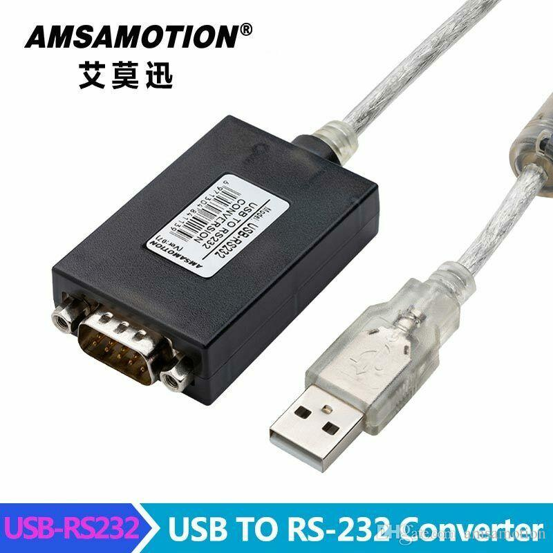 USB-RS232 Converter FTDI Chip USB 2.0 to Serial RS-232 DB9 9Pin Adapter Converter Cable IM1-U102 With Magnetic Ring Protection
