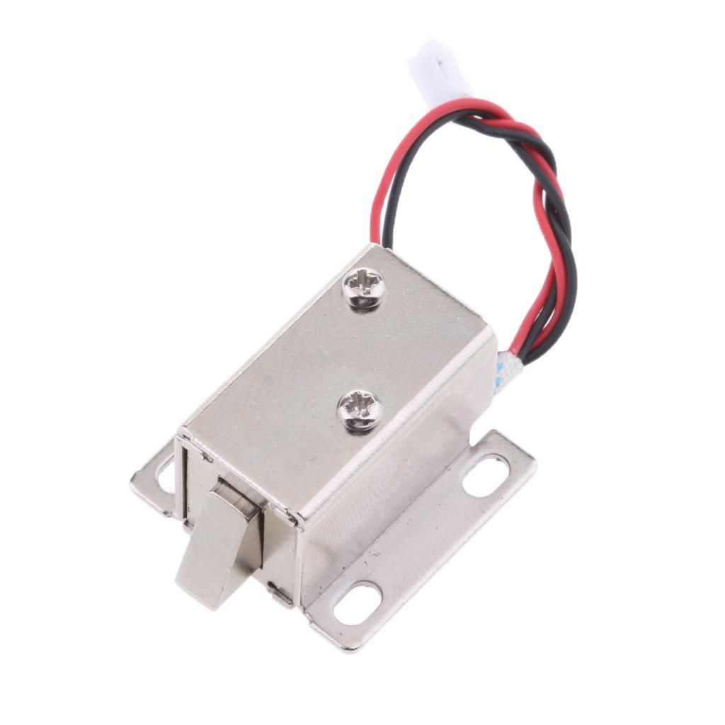 24V 0.53A Mini électrique magnétique Serrure électromagnétique Porte d'accès Entrée de rechange Locker