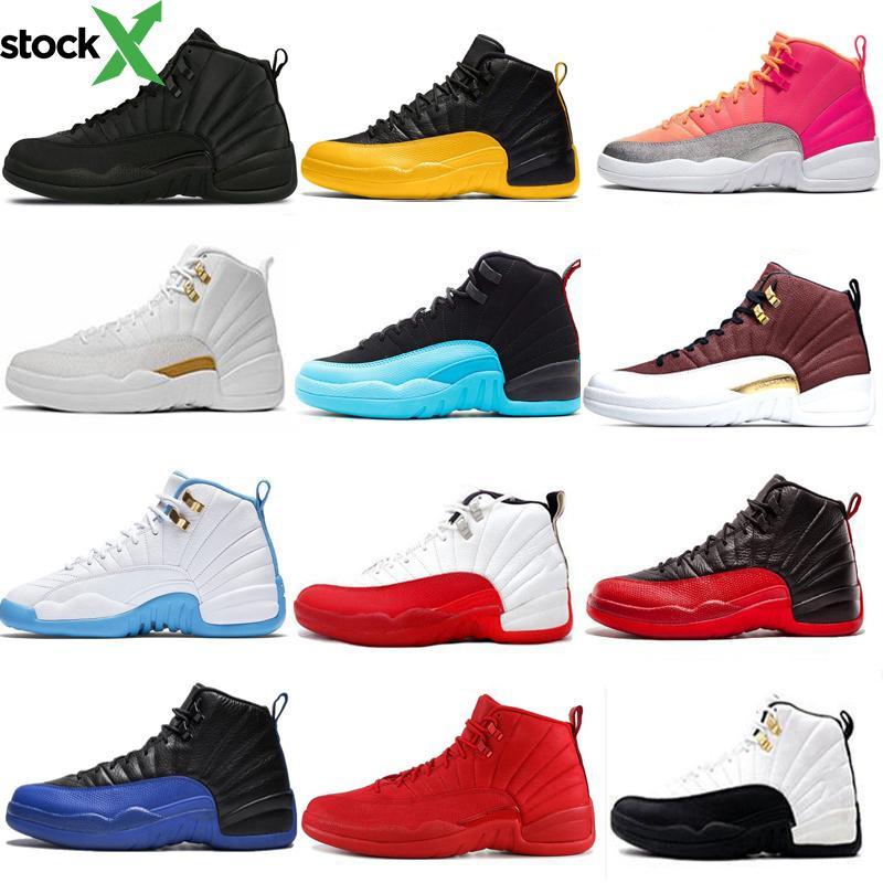 12 12 s de basket-ball chaussures pour hommes Winterized Wntr Gym Rouge grippe jeu royal balle Université Or Bleu Blanc Sport Sneakers