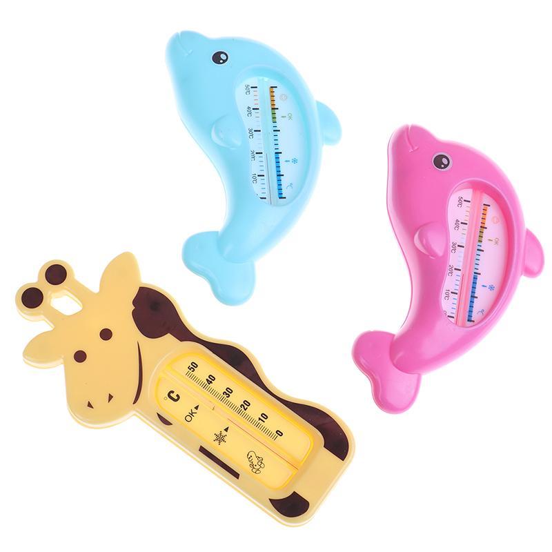 Chambre Mignon Cartoon BWATER bain Thermometeraby bain Dolphin température bébé Kid Douche Jouet enfants Produit pour le bain de douche