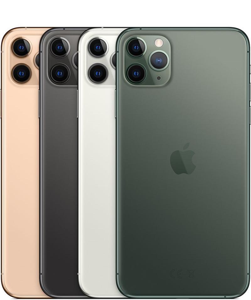 مجدد الأصلي اي فون XS كحد أقصى في اي فون 11 برو ماكس ستايل 6.5 بوصة عرض OLED 4G LTE 4GB RAM 64G / 256G A12 iOS12 الهاتف الذكي