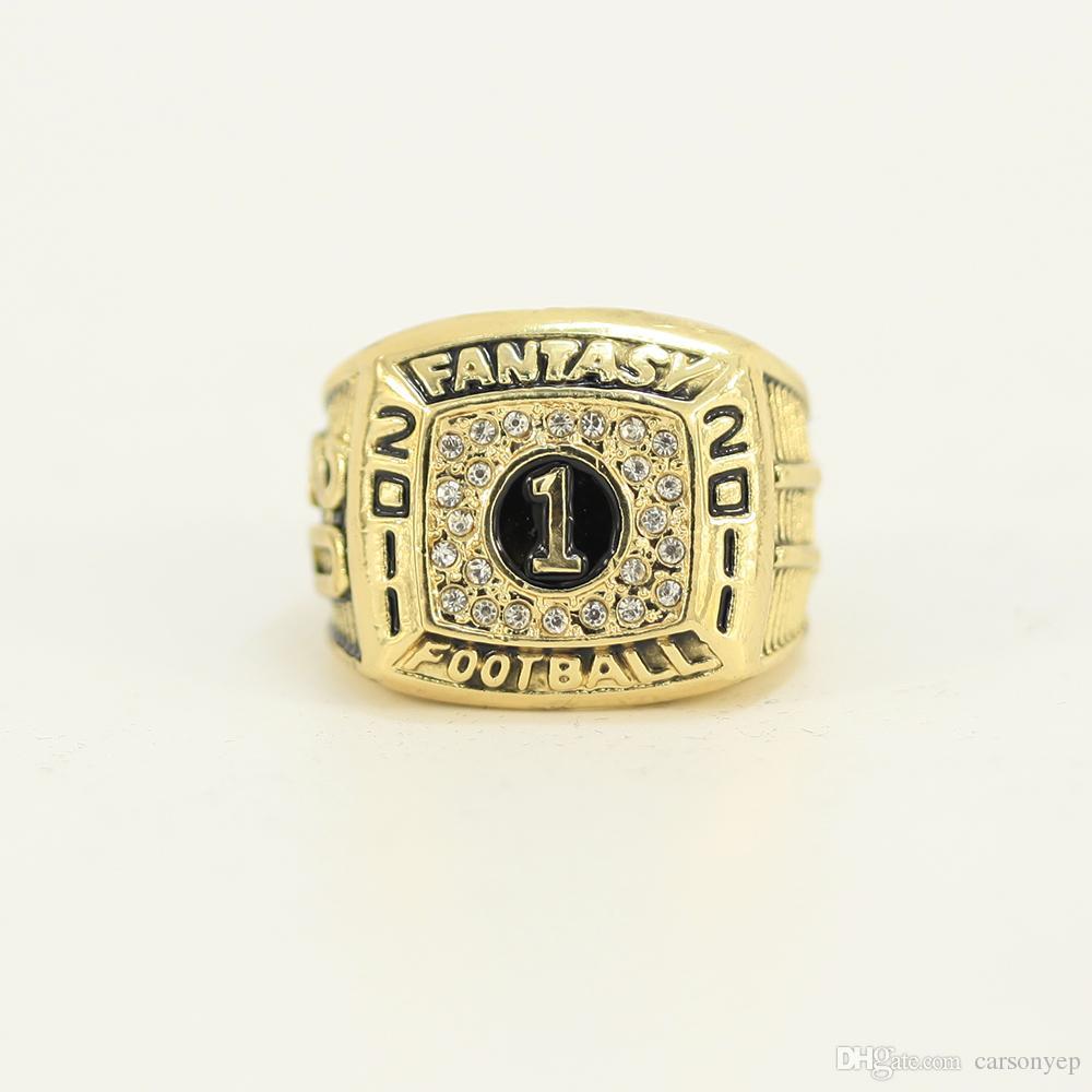 Football Fantasy 2011 WORLD CHAMPIONSHIP RING Fan Men Gift