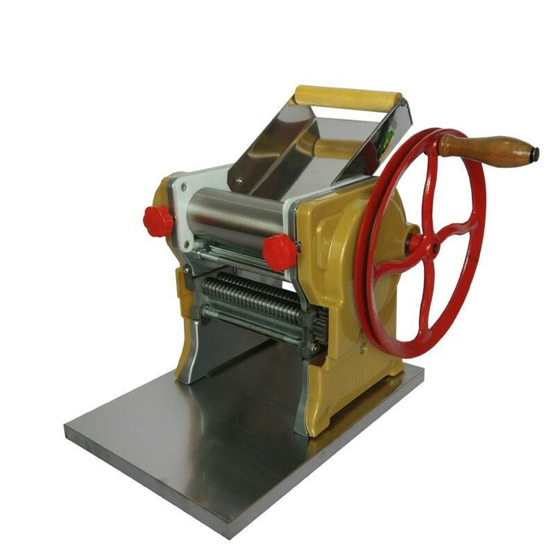 Venda quente máquina manual pesados de macarrão, máquina de macarrão, máquina de fabricante de massas para uso doméstico e comercial