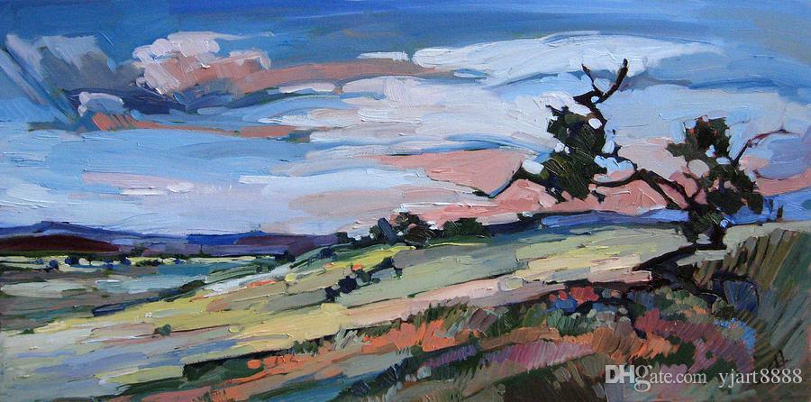 --arizona-plains ---- Unframed Modern Canvas Wall Art per la decorazione di casa e ufficio, pittura a olio, pitture animali, cornice.
