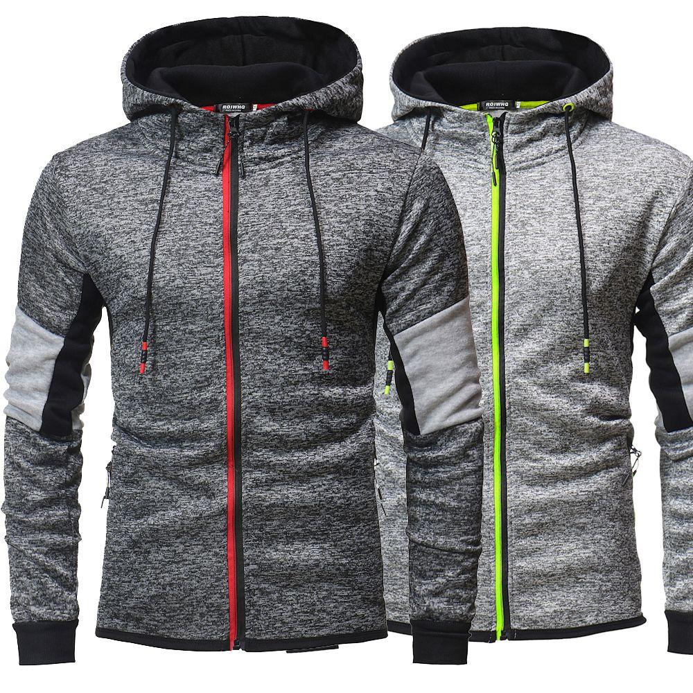 2019 Designer Men Hoodie Sweatershirt Sweater Mens Hoodies Luxury Clothing Thin Long Sleeved Skateboard Youth Movements Streetwear Zipper