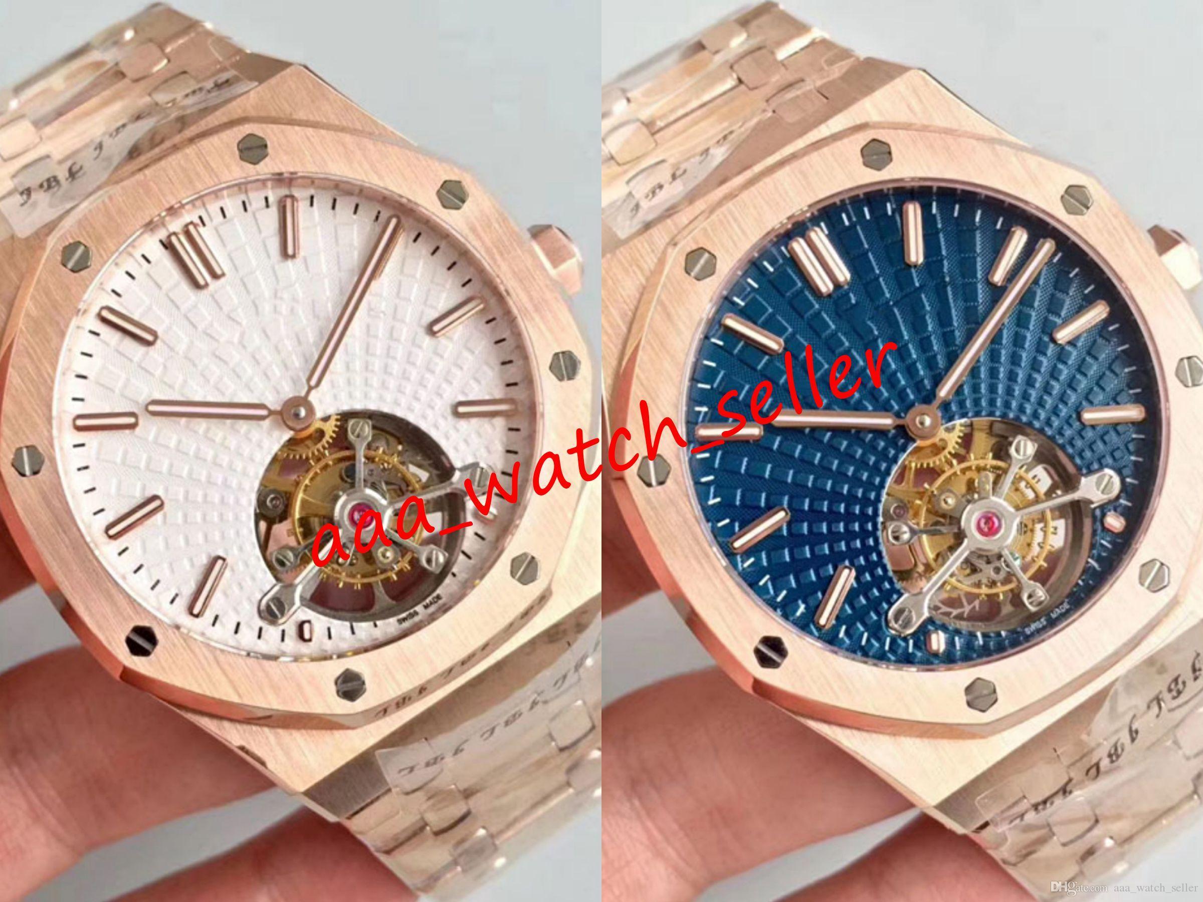 2 стили высочайшего качества R8 версия роскошные мужские турбийльские часы 26331 15400 15500 15710-й белый циферблат механическое автоматическое перемещение замороженные часы наручные часы