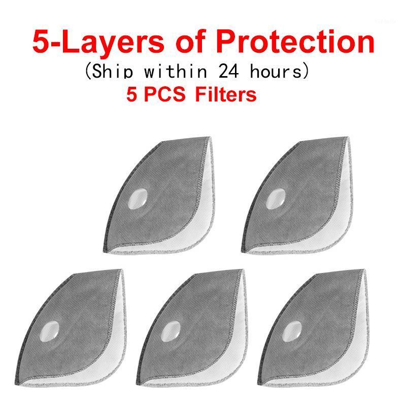 X-TIGER Radfahren Gesichtsmaske Filtermaske Filter PM2.5 Anti-Verschmutzung staubdichte Protect Actived Carbon-Filter1
