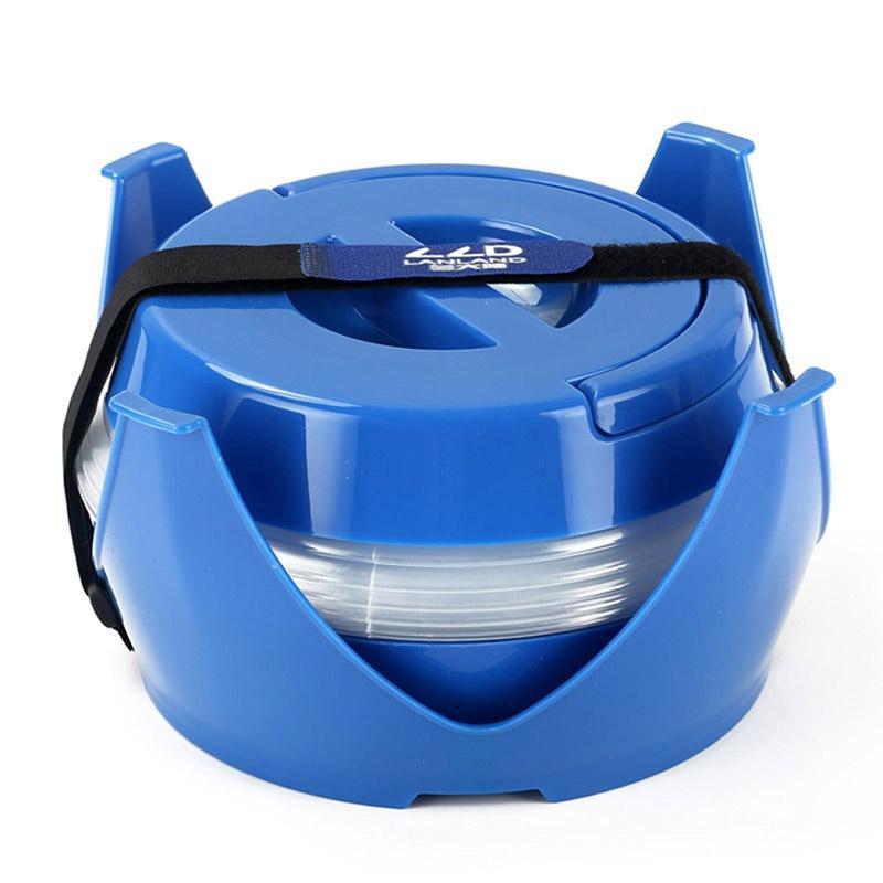 Открытый Портативный 5л воды сумка складная Кемпинг ведро воды Пиво Контейнер синий Пешие прогулки Велоспорт воды сумка Аксессуар