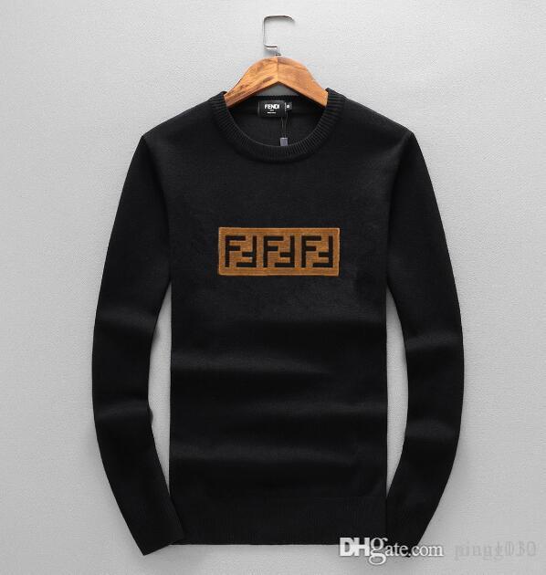 Winter-Pullover für Herren-Weihnachten 2020: Hirsch Marke gedruckt langärmelige Pullover, beiläufige Art, dünne Art, dicker Artmänner swe