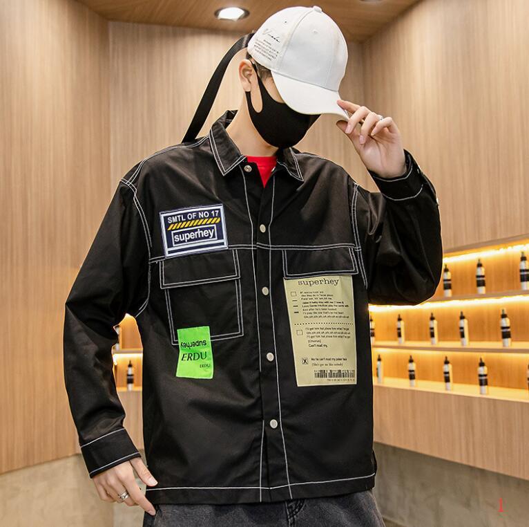Erkek Streetwear ile Mektupları Yeni Geldi Erkek Ceket için 20SS Mens Tasarımcısı ceketler Sıcak Satış Marka Ceket Giyim M-2XL ZWN204256 Tops