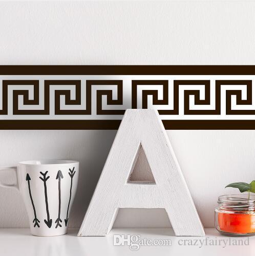 Self Adhesive Wallpaper Borders Waterproof Kitchen Bathroom Wall