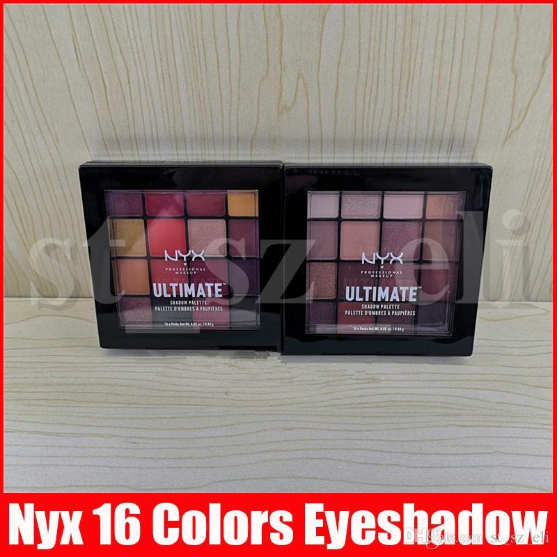 NYX professionellen Make-up Warm Neutrals Phoenix Lidschatten-Palette 16 Farben Lidschatten-Palette NYXULTIMATE matte Lidschatten