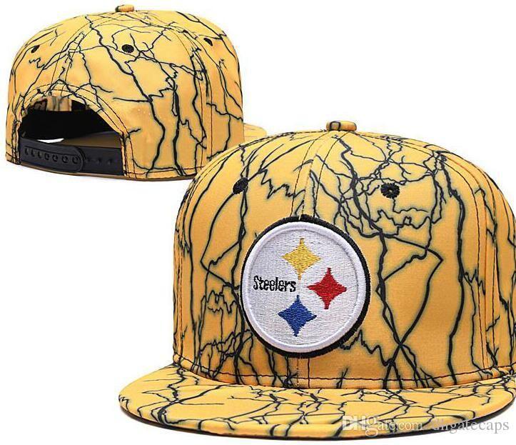 Wholesale Adjustable Pittsburgh Snapback PIT Hats Outdoor Summer Men Basketball Cap Sun Visors Flat casquette Cheap Women Football Cap 03