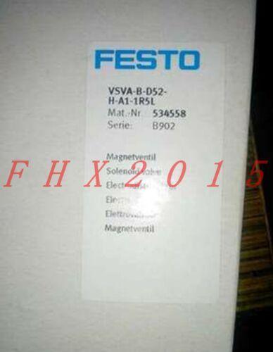 ONE NEW FESTO solenoid valve VSVA-B-D52-H-A1-1R5L 534558