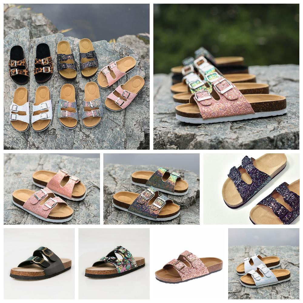 13styles Sequins Sandals Mermaid Flip-flops Summer Cork Slipper Sandles fashion Antiskid Slippers Casual Cool Slippers beach Sandal FFA2021
