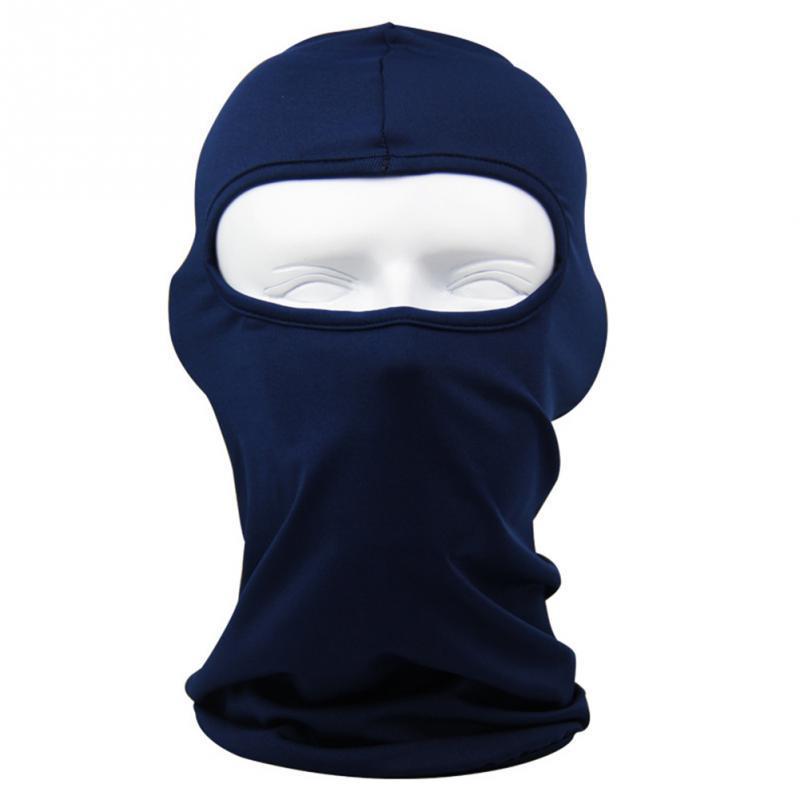 2018 Máscaras Máscara del pasamontañas a prueba de viento de cara completa de algodón de cuello de la Guardia Máscaras Sombrero Sombrero caballo Senderismo al aire libre Ciclismo