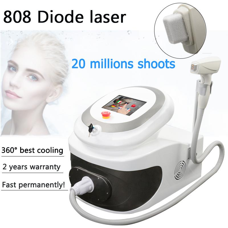 Professional 808nm hair laser machine cold diode laser therapy face body hair removal machines ce approved