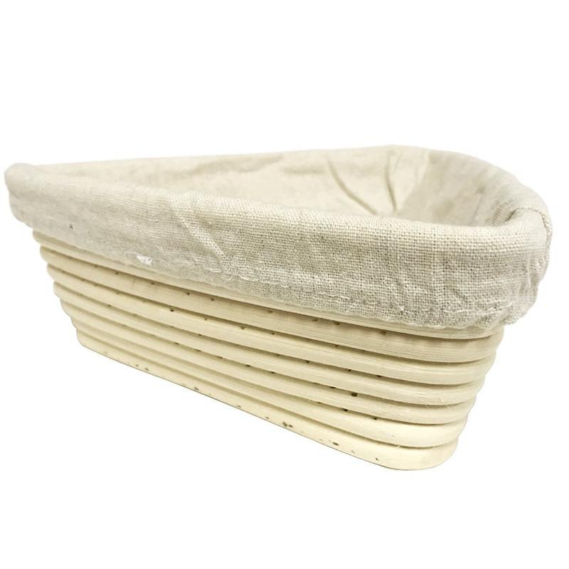 Triangular Brot Sauerteig Fermentation Korb, Backteig Schalen, Geschenke für Bäcker, Brotkörbe für Sauerteig Körbe, Shavi