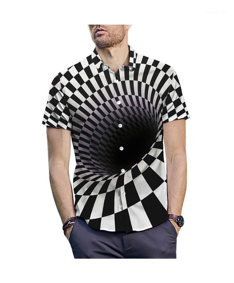Color Tees Casual Plus Size Short Sleeve Tees Male Clothing Mens Designer 3D Print T-Shirts Fashion Contrast