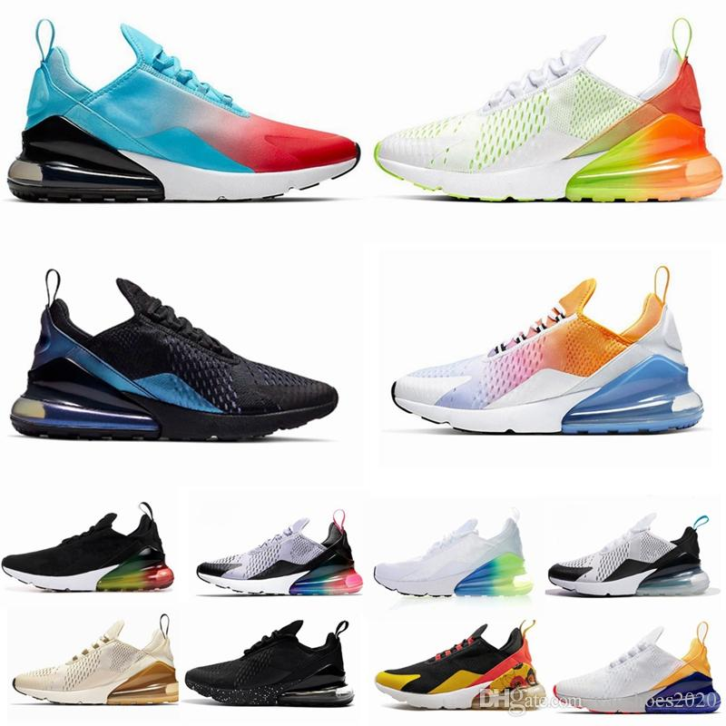 270s Parra Hot Punch Photo Blue Mens Women Running Shoes Triple White University Red Olive Volt Habanero 27C Flair 270s Sneakers 36-45