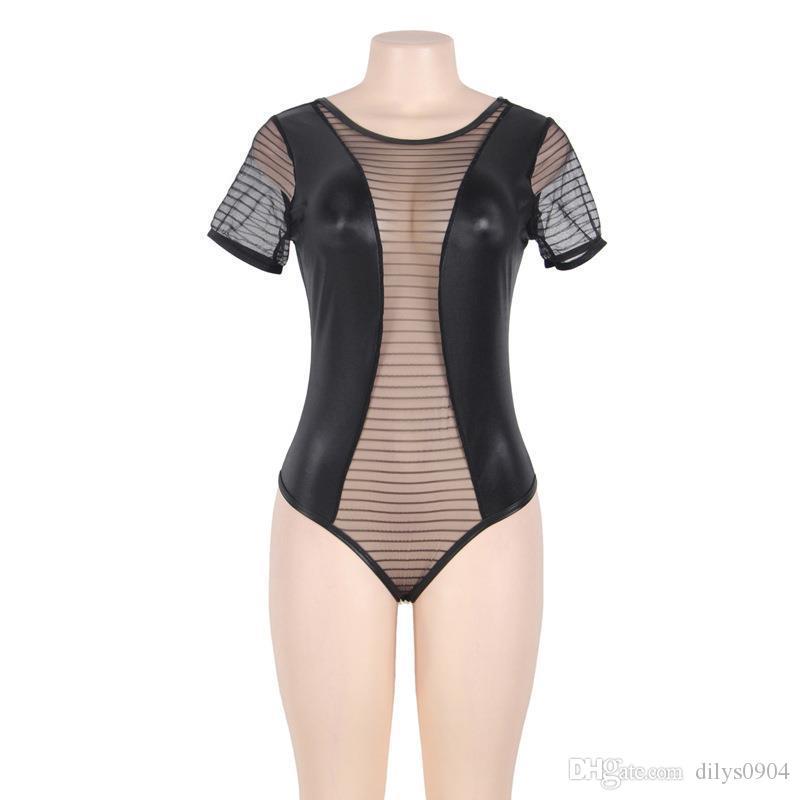 preto lingeries mulher de luxo Lingerie mulheres sexe roupa interior designer de underwears Lace Femme mulheres sleepwear pijamas sets Plus Size R80642