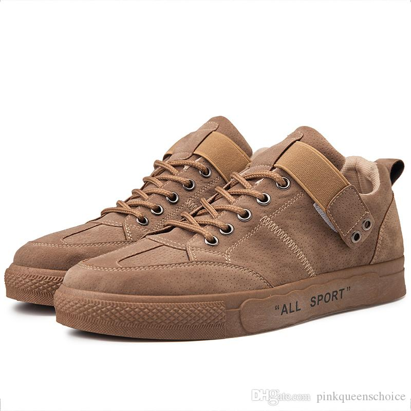 Hip-pop Skate Sneakers 50% Printemps corde SOLED Chaussures Chaussures American School Conseil Adolescent suédine Chaussures Casual Ulzzang Low Cut Plimsolls