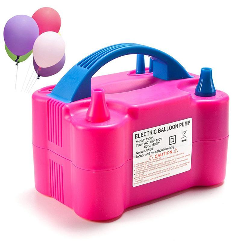 OHANEE الكهربائية بالون مضخة 220V منفاخ هواء حزب بالونات مضخة الديكور للبالونات المحمولة المكونات البالون آلة الاتحاد الأوروبي