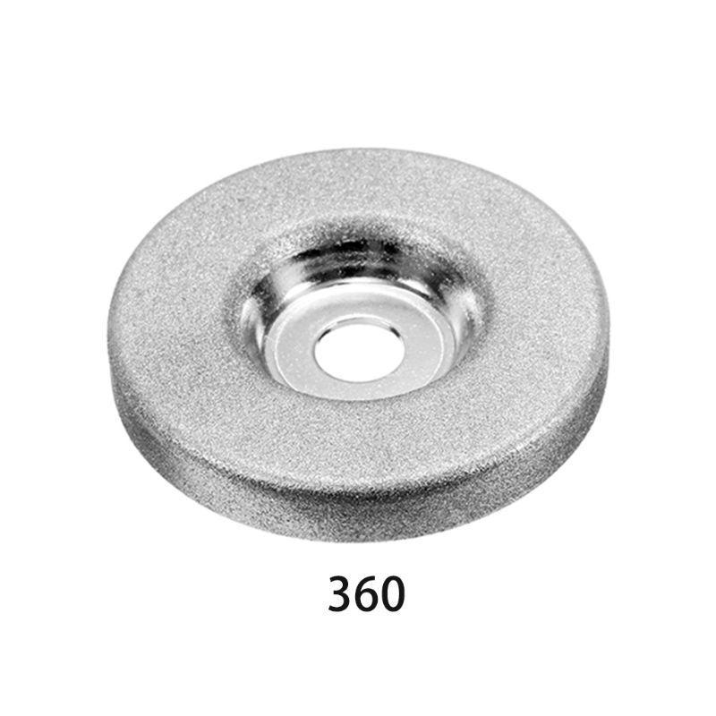 1 шт. 56 мм 180/360 грит Алмазный шлифовальный круг круг точильщика камень точилка угол режущего колеса роторный инструмент