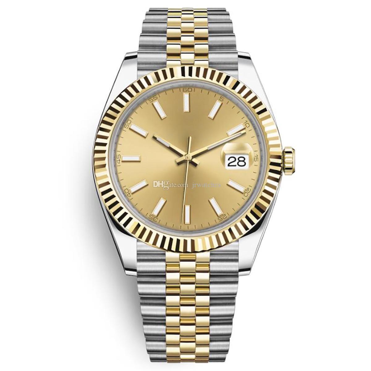 Мужчины смотреть 41мм высокое качество сапфира часы автоматические механические дата деловых людей светящихся 316L из нержавеющей стали Водонепроницаемые часы для дайвинга