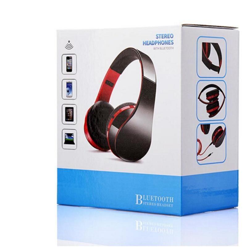 무선 Bluetooth 헤드폰 게임용 헤드셋 스테레오 음악 지원 카드 Mic With Foldable Headband 스튜디오 헤드폰 Better Marshall