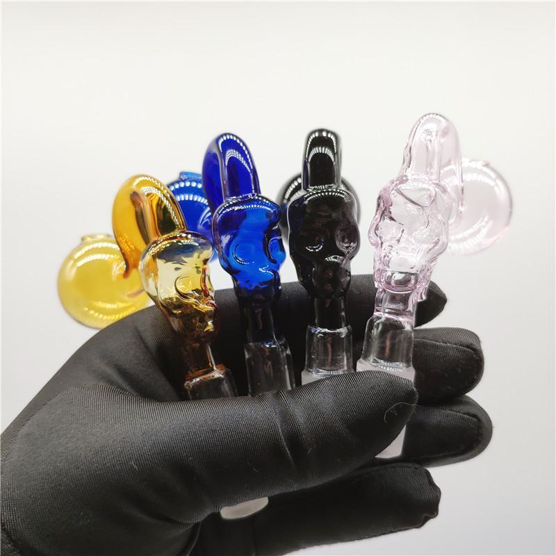 Vente coloré verre chaud Bongs Fumer Abreuvoir huile Brûleurs de tabac à pipe en verre à bas prix Bowl J.-J.