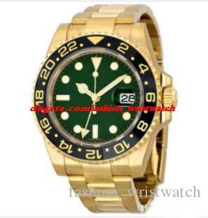 Orologio di lusso da uomo in stile 16 116719 126711 116713 116718 126715 40mm lunetta in ceramica acciaio inossidabile automatico moda uomo orologi orologio da polso