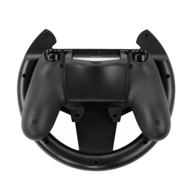 Top Compact Lightweight Gamepad Joypad Grip Controller With Detachable Cover Gaming Racing Steering Wheel For Sony PS4