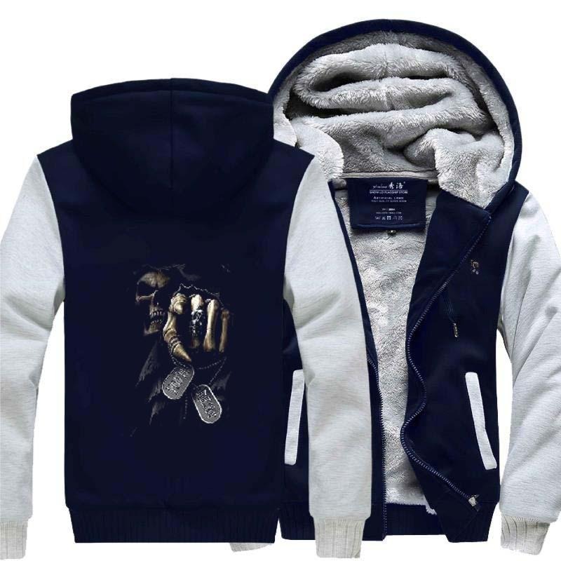 The Couple Skull children Cotton Fleeces Sports Long Sleeve Sportwear
