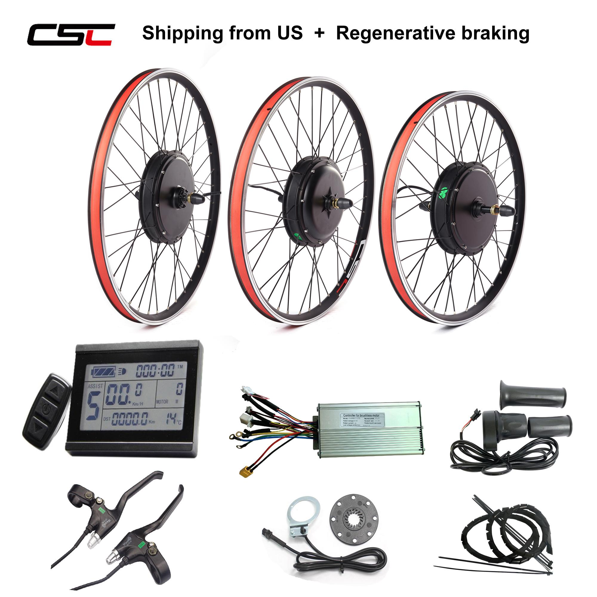 Electric Bike Hub Motor Wheel 48V 1500W Regenerative Brake include Tax