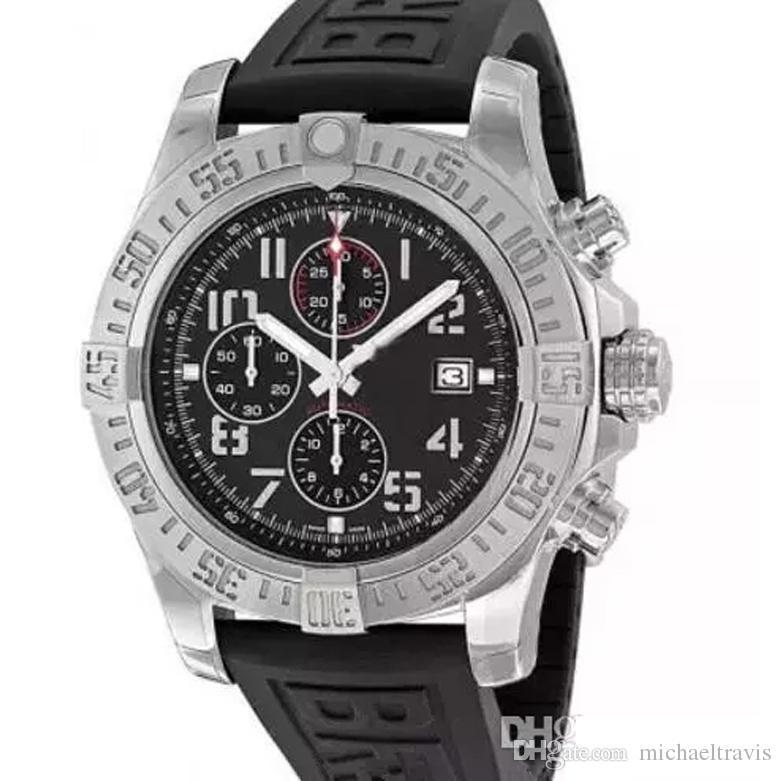 Мужские часы кварцевый механизм хронограф мужской резиновый ремешок мужские часы A133711 мужские наручные часы Relogio Masculino