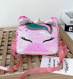 Bolso de diseño creativo lindo divertido de las lentejuelas pequeño bolso femenino 2020 bolsos de hombro del mensajero de la nueva ola salvaje Bolsa