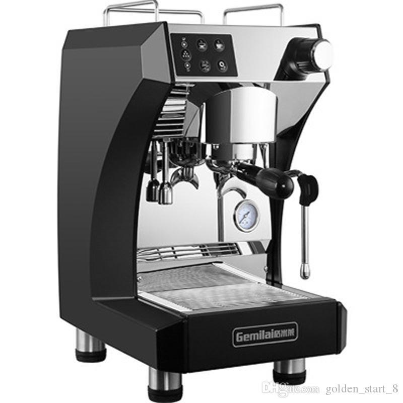Café comercial que faz a máquina CRM3200B Caldeiras dobro 1.7L Tanque de água 2700W Poder semi-auto máquina de café máquina de café
