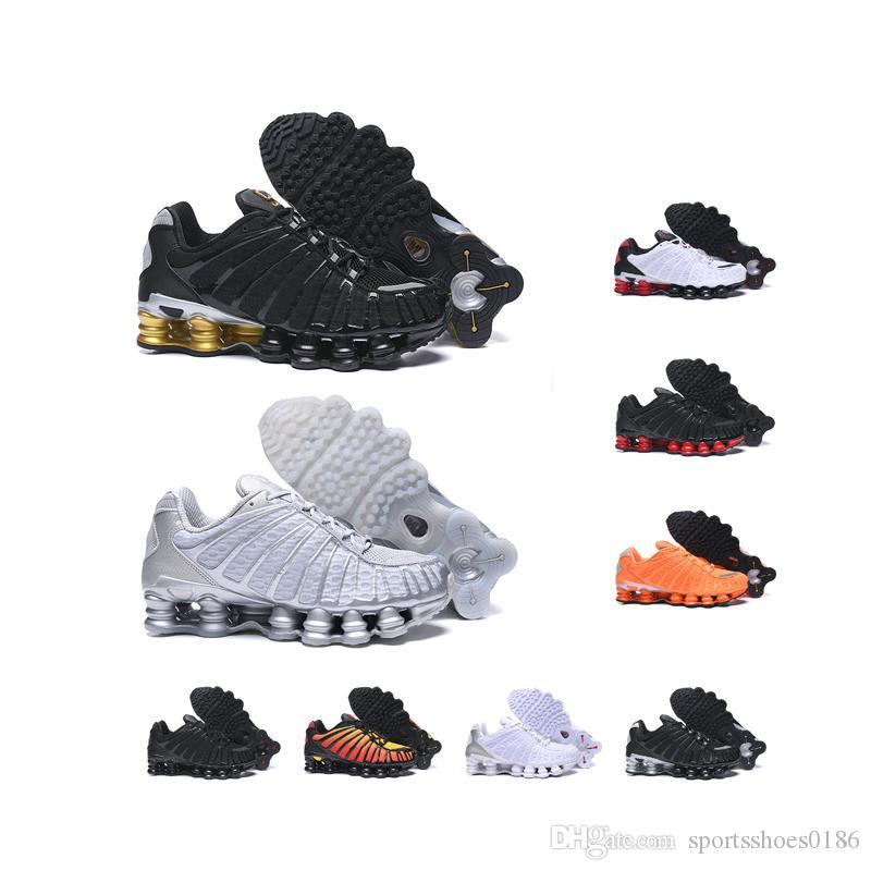 2020 NIKE SHOX TL 1308 nueva llegada de los hombres clásicos diseñador de zapatos para correr tl moda masculina zapatillas de deporte al aire libre 9 colores