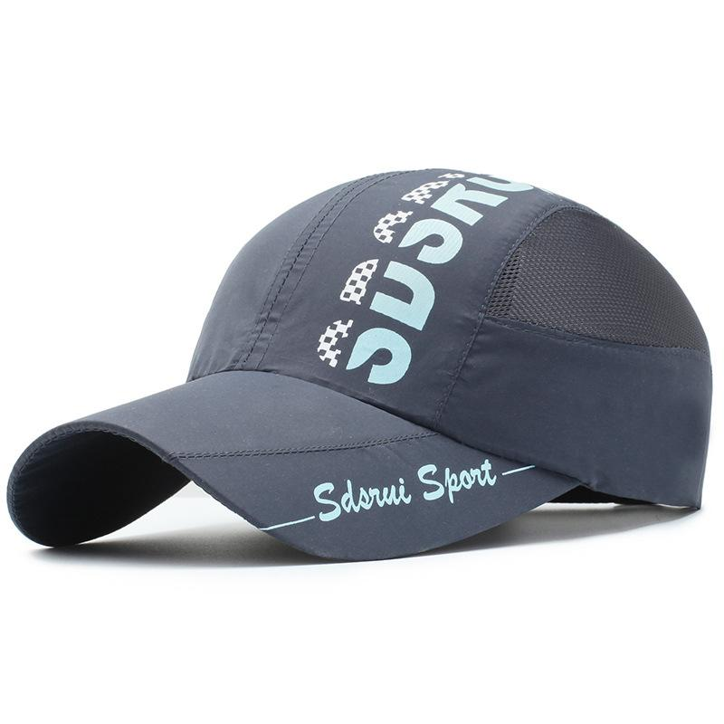 Unisex Baseball Cap Outdoor Cycling Sun Shade Casual Breathable Quick Drying Cap Summer Cap Quick Drying
